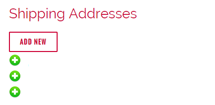 ShippingAddresses